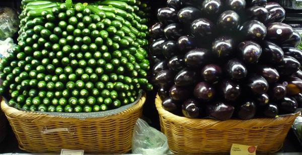 zucchinieggplant
