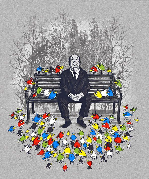 Hitchcock and today's angry birds