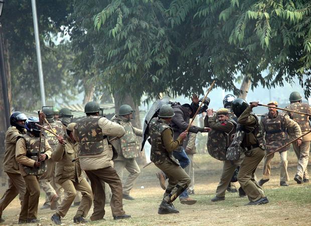 India police democracy