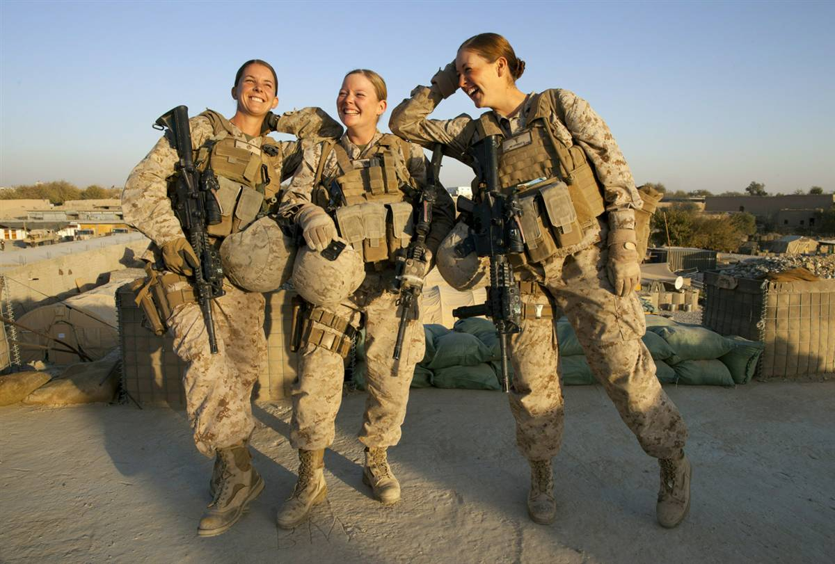 a discussion on women serving in combat Women from serving in combat units and directed the military  some pointed to  this as an argument against women in combat roles see us.