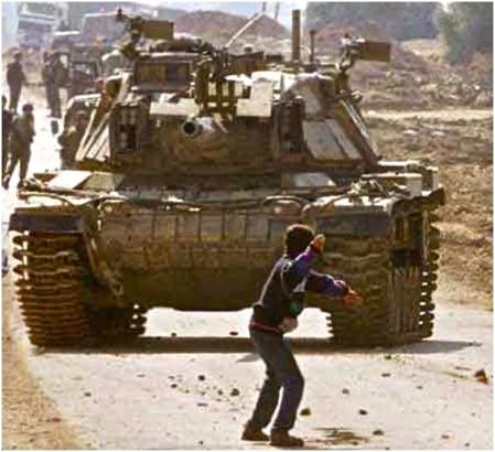 Zohan battles a terrorist