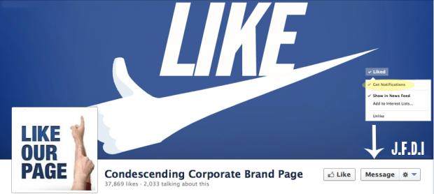 corporate facebook