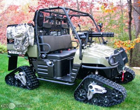 Tea Party golf cart