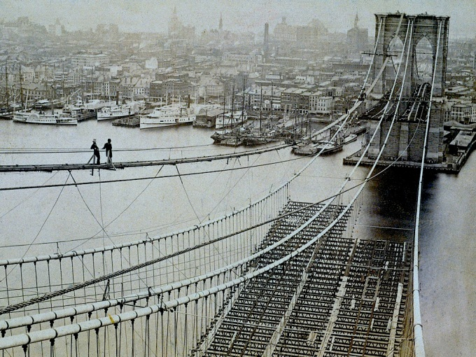 Brooklyn bridge builders