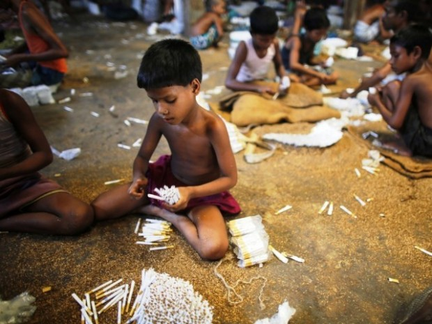 Child labor, cigarettes, Bangladesh