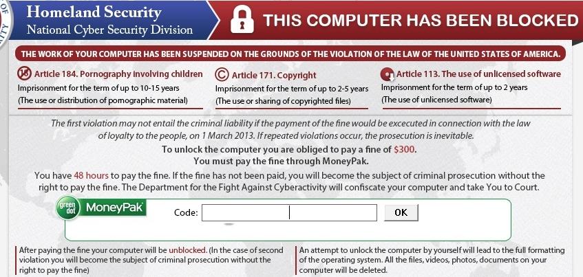 Порно вирус реестр