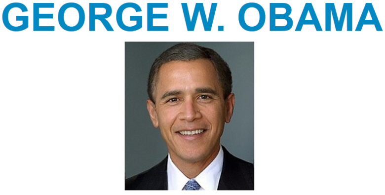 georgewobama