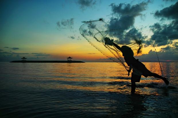 casting a net