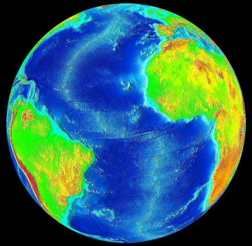 earth oceans
