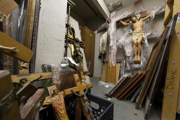 NY Archdiocese jumble shop
