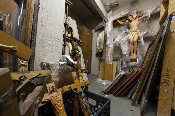 NY Archdiocese jumble shop