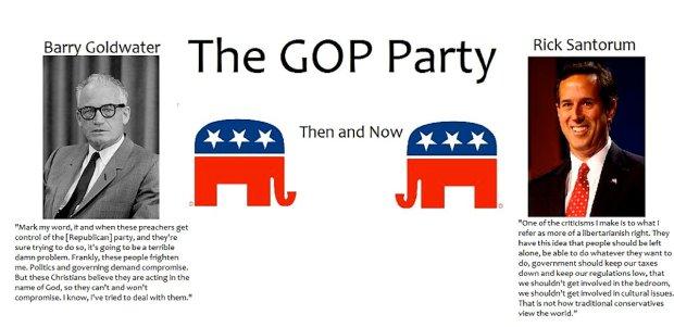 Goldwater v Santorum
