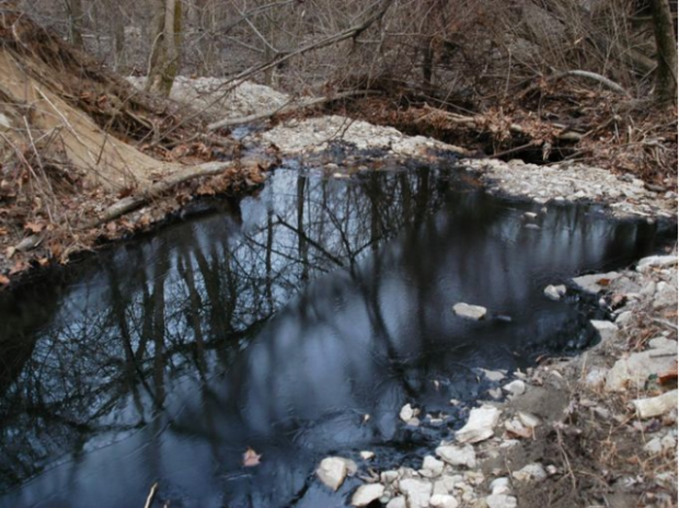 Sunoco oil pipeline ruptures and spills into Ohio nature preserve