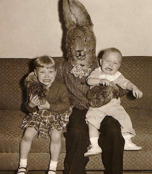Fear of Easter Bunny