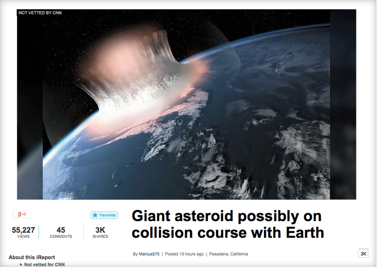 asteroid after our butt