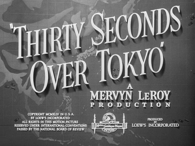 30 seconds over Tokyo