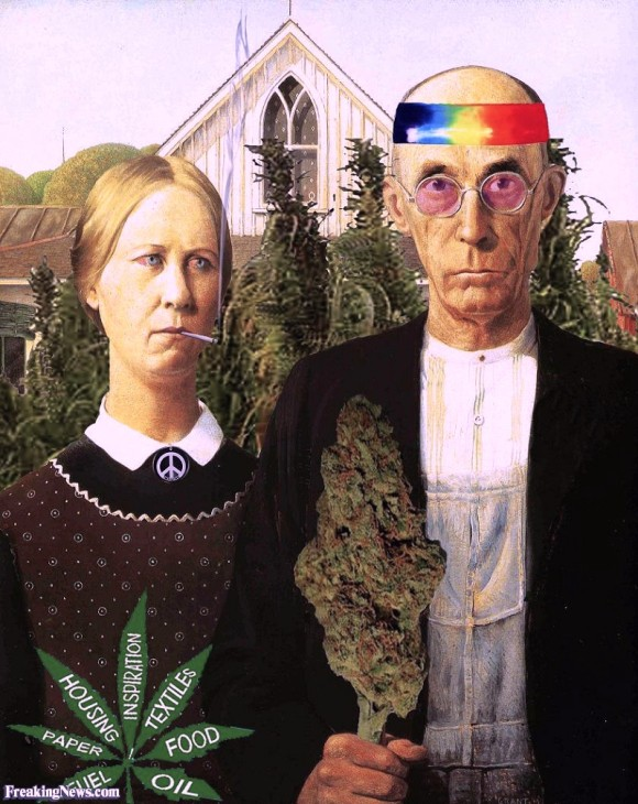 Hip American Gothic