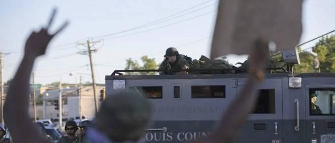 Police invade Ferguson