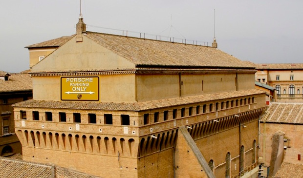 Sistine Chapel parking