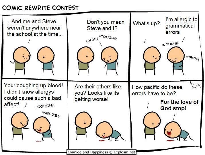 comic rewrite