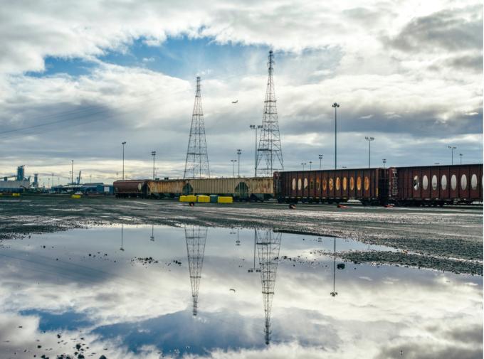 oil terminal site