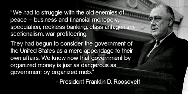 FDR vs big banks