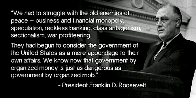 FDR vs big banks