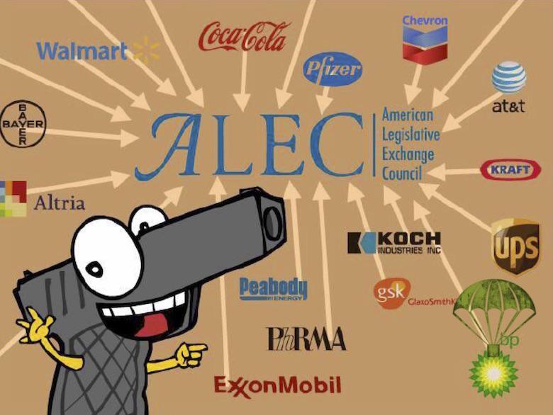 BP bails on ALEC