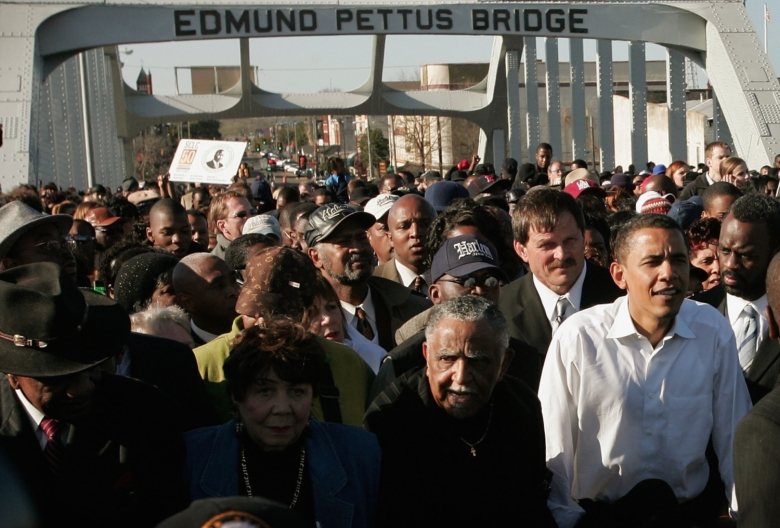 Clinton, Obama Commemorate Historic Selma March