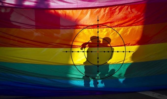 target of bigots
