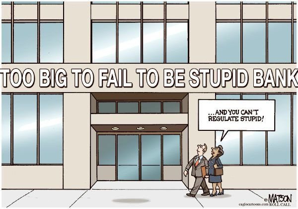 too big, too stupid