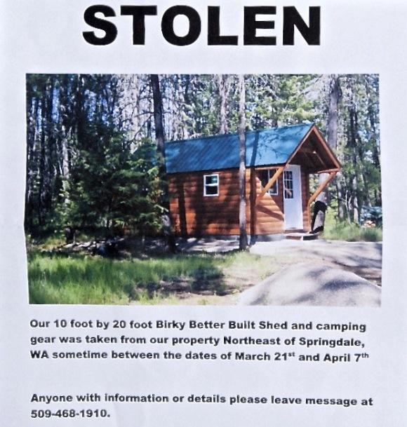 stolen cabin