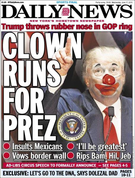 clown prez trump