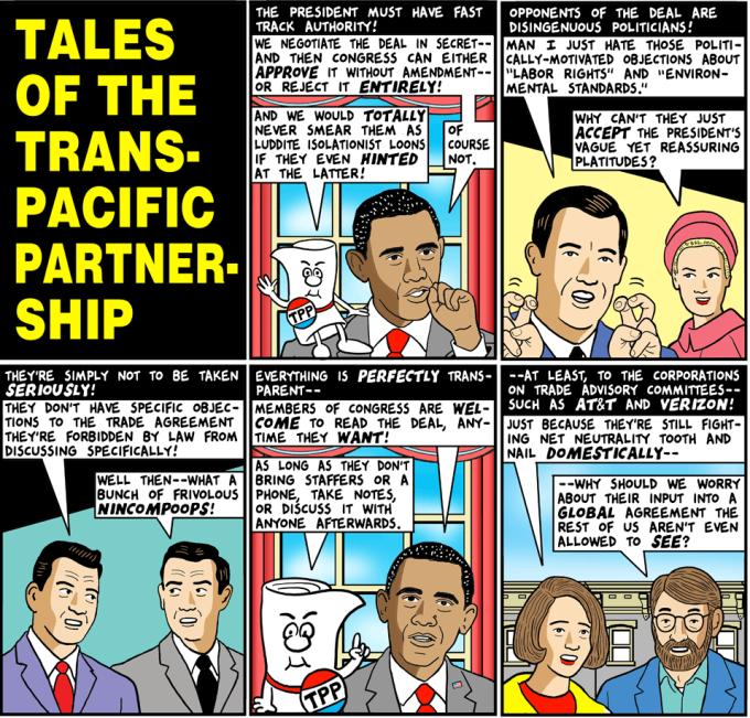 Tom Tomorrow, TPP