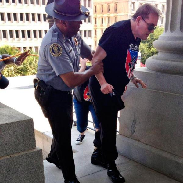 Black cop aids shithead