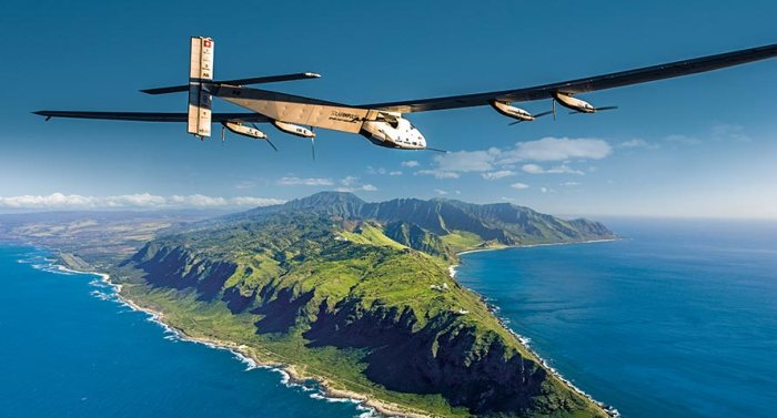 Hawaii landing