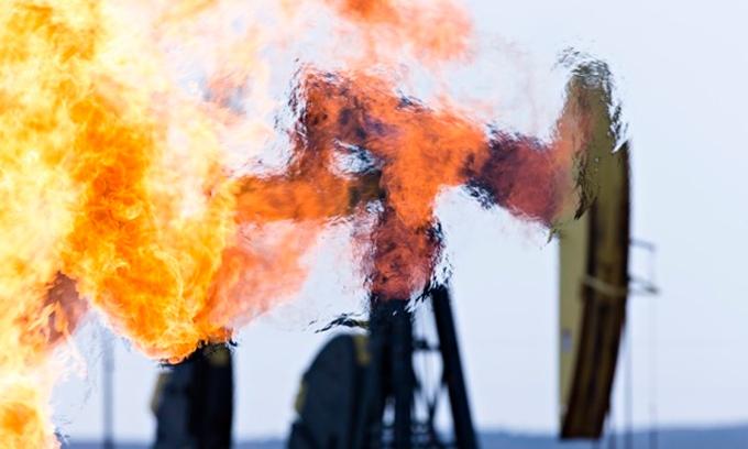Methane-burn