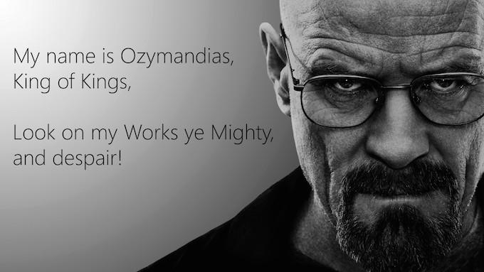 NM Ozymandias