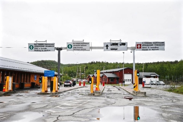 Norway Arctic border crossing