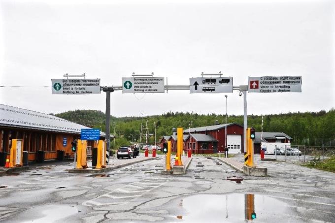 Norway Arctic border crossing