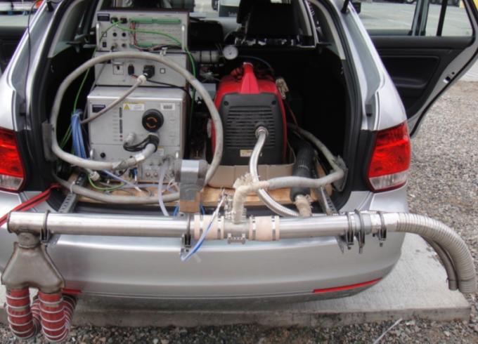WVU test rig