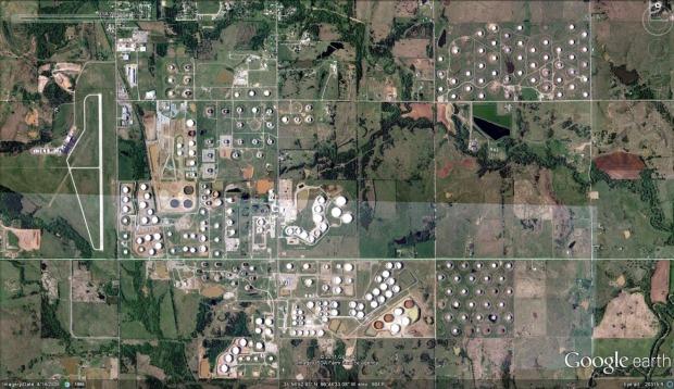 Cushing, OK Google Maps