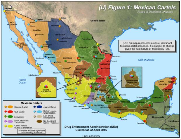 Mexico cartels