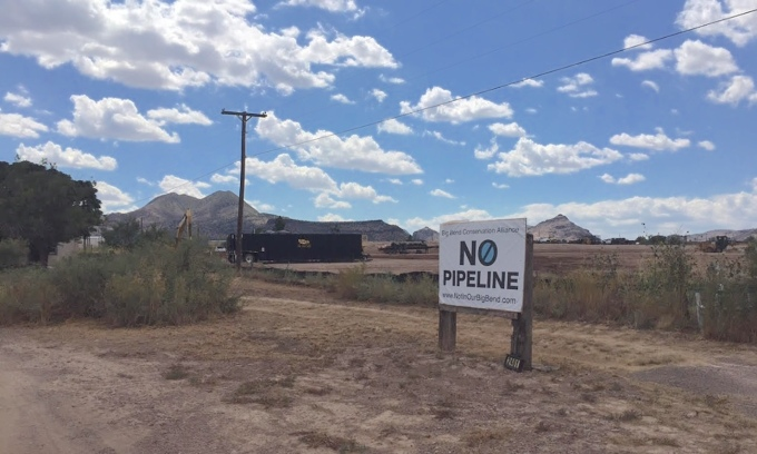 No pipeline