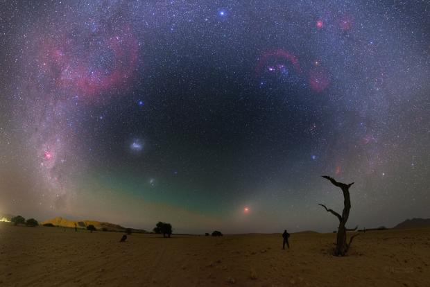 Petr Horálek, Namibian eclipse