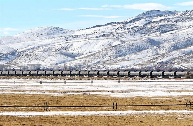 stored tank cars