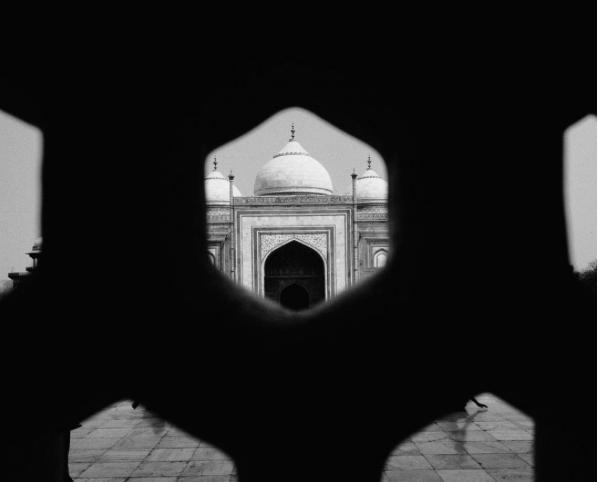 Om at Taj Mahal