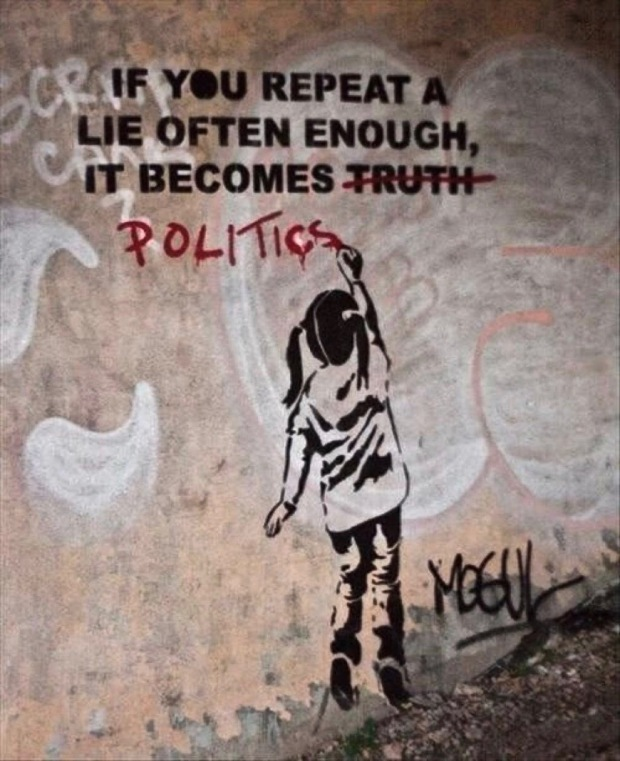 lies and politics