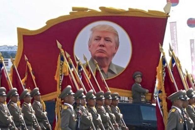Trump parade DPRK