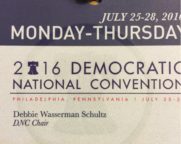 DNC press credentials